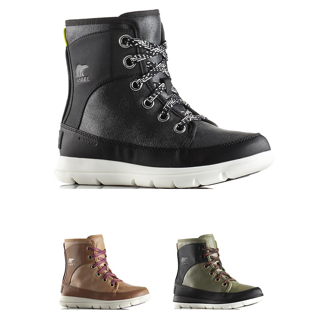 Womens Sorel Explorer 1964 Winter Waterpoof Snow Rain Hiking Calf Boots
