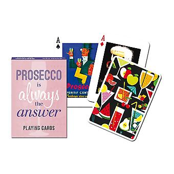 Piatnik Prosecco Playing Cards