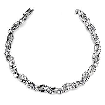 Oliver Weber Bracelet Less Rhodium Crystal