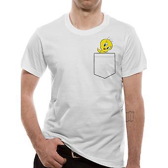 Looney Tunes-Tweety camiseta de bolsillo