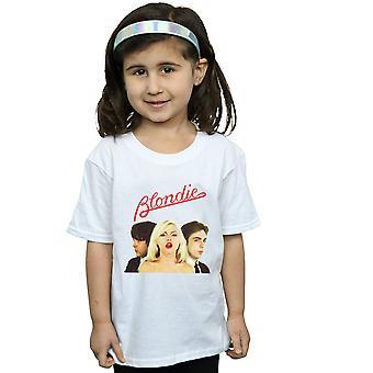 Blondie ragazze banda Trio t-shirt