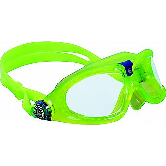 Aqua Sphere Seal Kid 2 Swimming Goggle - Clear Lenses - Green