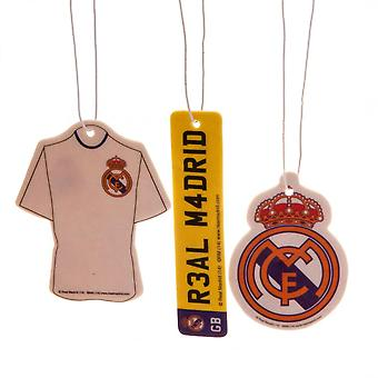 Real Madrid CF Air Fresheners (Pack Of 3)