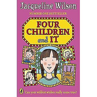 Vier Kinder, und es
