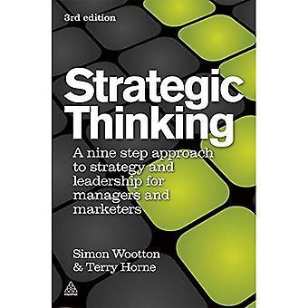 Réflexion stratégique: Une approche par étapes de la stratégie et de Leadership