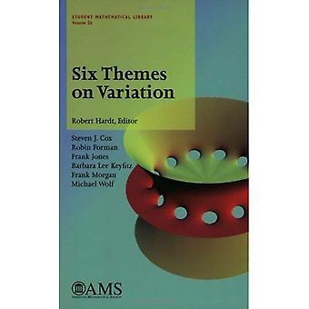 Sei temi sulla variazione (studente libreria matematica Series, vol. 26)