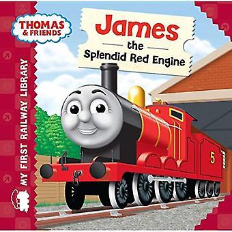 Thomas & vrienden: Mijn eerste spoor bibliotheek: James de prachtige rode motor
