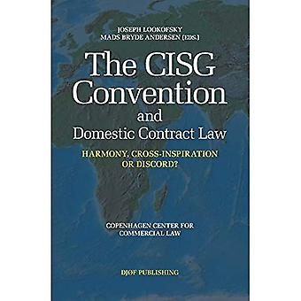 The CISG Convention and Domestic Contract Law: Harmony, Cross-Inspiration, or Discord?