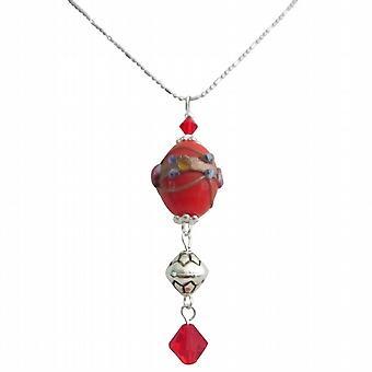 Beautiful Gift Stunning Handmade Bead Dangling Necklace