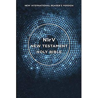 NIRV, sensibilisation New Testament, livre de poche, bleu