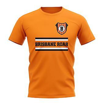 Brisbane Roar Core Football Club T-Shirt (Orange)