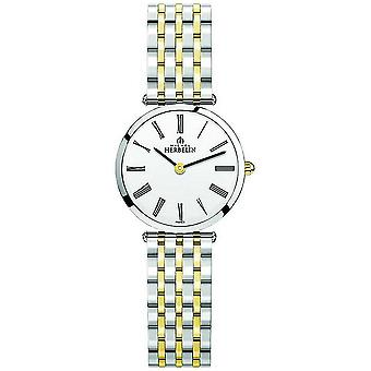 Michel Herbelin | Womens | Epsilon | Two Tone Extra Flat Bracelet | 17116/BT01N Watch