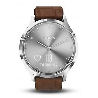 Garmin Vivomove HR Premium Silber/Braun (010-01850-AD)
