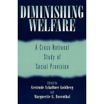 Diminishing Welfare A CrossNational Study of Social Provision by Goldberg & Gertrude Schaffner