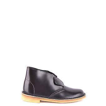 Clarks Ezbc095034 Kvinnor's svart läder kängor