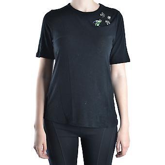 Tory Burch Ezbc074001 Women's Black Other Materials T-shirt