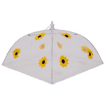Epicurean Large Square 48cm Food Cover, Sunflower