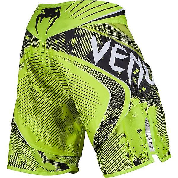 Venum Mens Galactic kjempe Shorts - Neo gul - bjj mma ufc