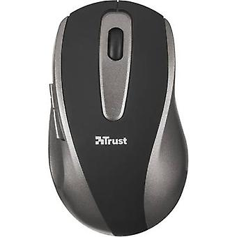 Trust Easyclick Wireless mouse optiske sort