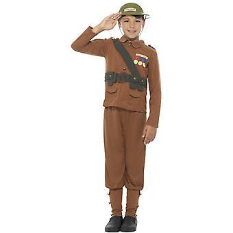 Horrible histories soldier costume