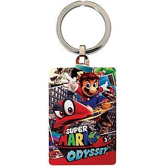 Super Mario métal Keyring Odyssey