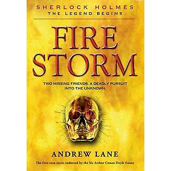 Fire Storm by Andrew Lane - Andy Lane - 9780374323110 Book