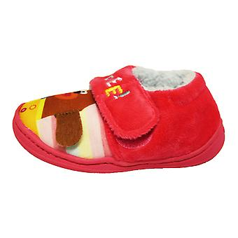 Hey Duggee Toddlers Tila Touch Close Slippers
