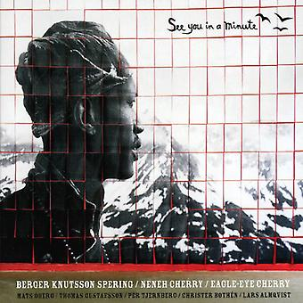 Cherry/Berger/Bothen/Gustafsson/Knutsson - See You in a Minute [CD] USA import