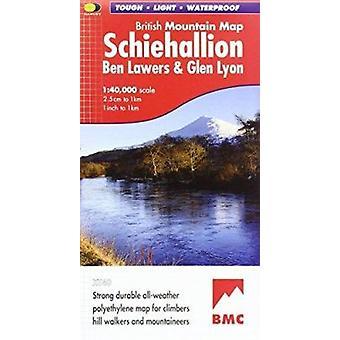 Schiehallion - Ben Lawers and Glen Lyon by Harvey Map Services Ltd. -