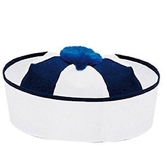 Matroos Cap blauw wit