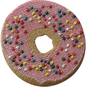 Patch - C&D - Food Pink Sprinkle Donut New Gifts p-jsx-0026