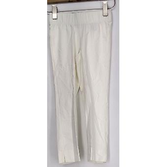 Afslanken opties voor Kate & Mallory leggings pull-on capris wit A411644