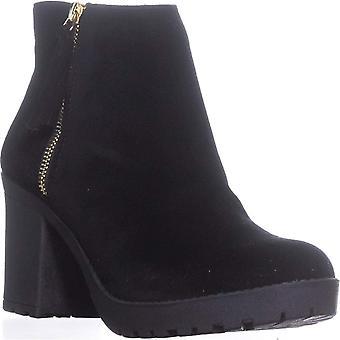 مادة فتاة المرأة ميليس سويدي مغلقة إصبع القدم الكاحل أحذية أزياء