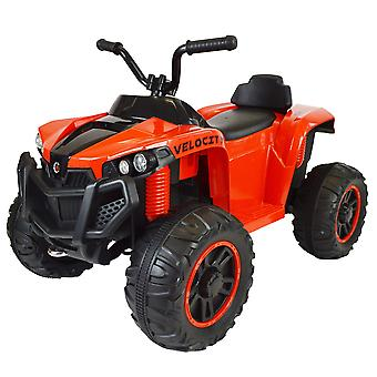 Kids Electric Ride On ATV Quad Bike - Upgraded Rubber Tyres Version