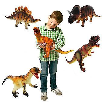 14 pulgadas grande de goma espuma suave peluche dinosaurio