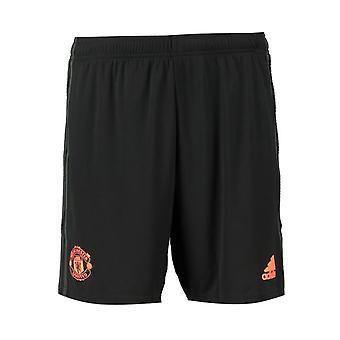 2019-2020 Man Utd Adidas Dritte Shorts (Schwarz)