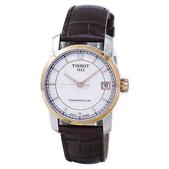 Tissot Titanium Powermatic 80 T087.207.56.117.00 T0872075611700 Damen's Uhr