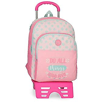 Roll Road Do All Backpack 44 centimeters 19.600000000000001 Pink