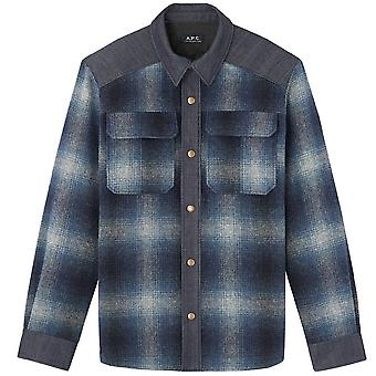 A.p.c A.P.C Checkered Wool Mark Jacket
