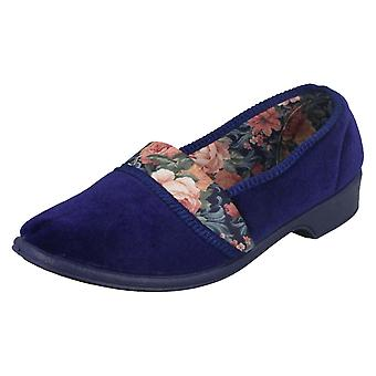 Ladies Lady Love Slip On Casual Flats Tina