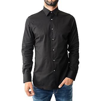 J.lindeberg daneil stretch cotton shirt - black