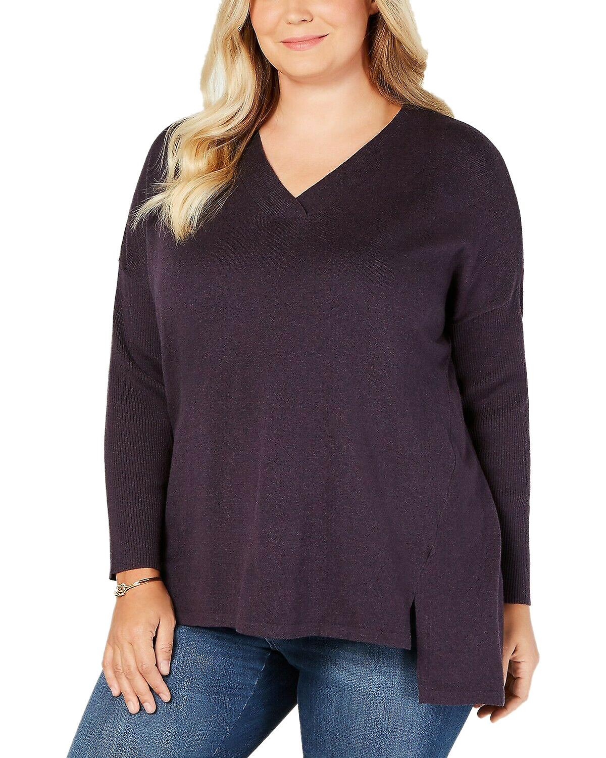 Style & Co Plus Size High low Over sized Tunic Sweater