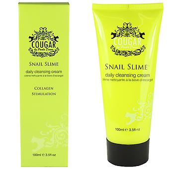 Cougar Snail Slime Daily Cleansing Cream 100ml