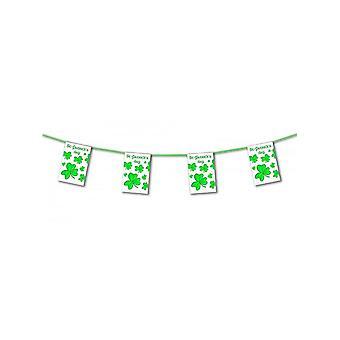St Patrick's Dzień Shamrock Bunting