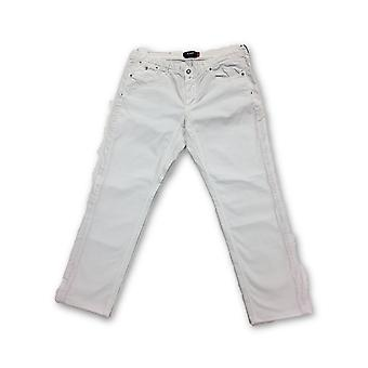 Jaggy 'Steve Slim' cotton jeans in white