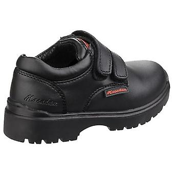 US Brass Childrens/Boys Alfie Twin Touch Fastening Shoes