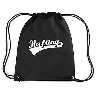 Black backpack dec0258 rafting