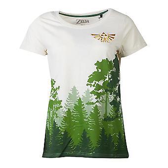 Nintendo Leggenda di zelda Hyrule Subrest Sublimazione T-Shirt Femmina X-Grande