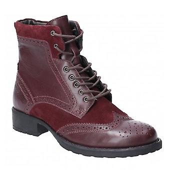 Hush Puppies Womens/Ladies Jazz Lace Up Leather Ankle Boot
