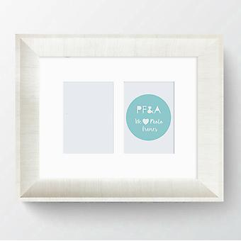 Multi Aperture Photo Frame Picture Elissa Shabby Chic 12x10